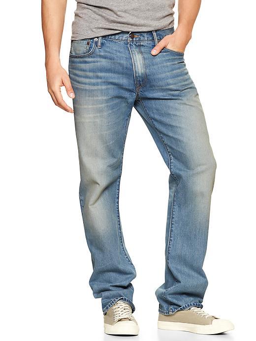 Gap 1969 Standard Fits Jeans (Smoke) - Smoke - Gap Canada