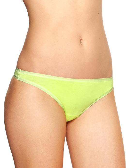 Gapfit Breathe Thong - Neon canary