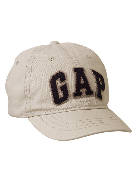 Gap Arch Logo Baseball Hat - Stone - Gap Canada
