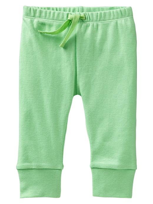 Gap Cuffed Pants - Neon lime green - Gap Canada