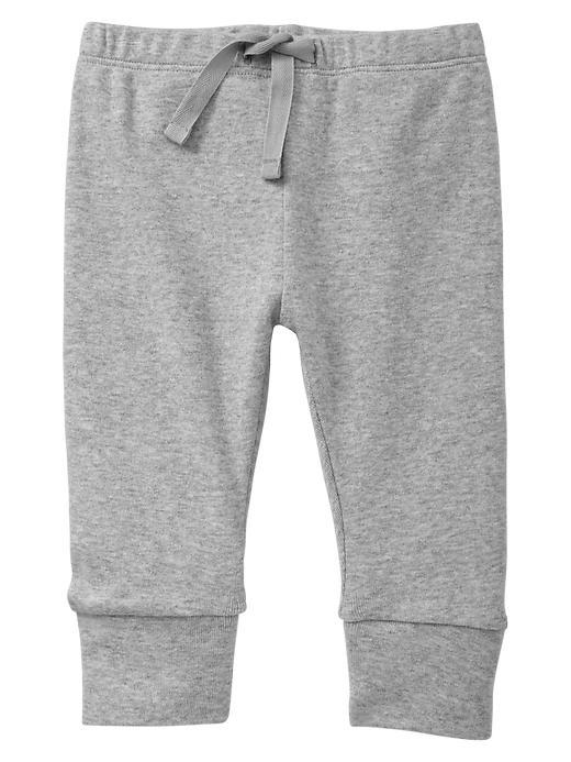 Gap Cuffed Pants - Heather gray