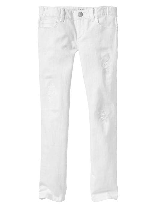 Gap 1969 Super Skinny Jeans - Optic white - Gap Canada
