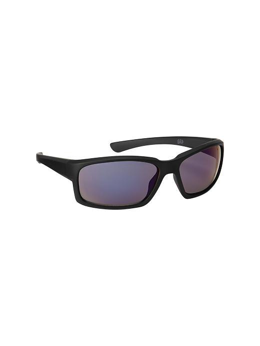 Gap Sport Wrap Sunglasses - True black