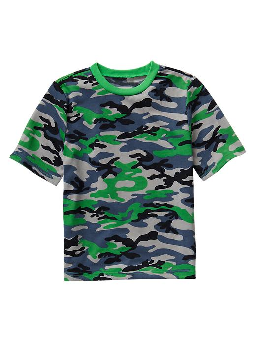 Gap Camo Pj Top - Lush green - Gap Canada