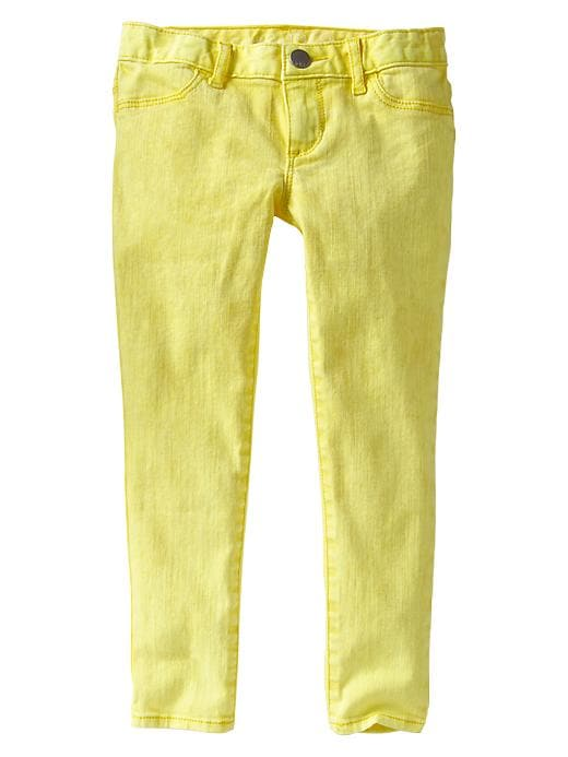 Gap 1969 Legging Skimmer Jeans - Vibrating yellow - Gap Canada