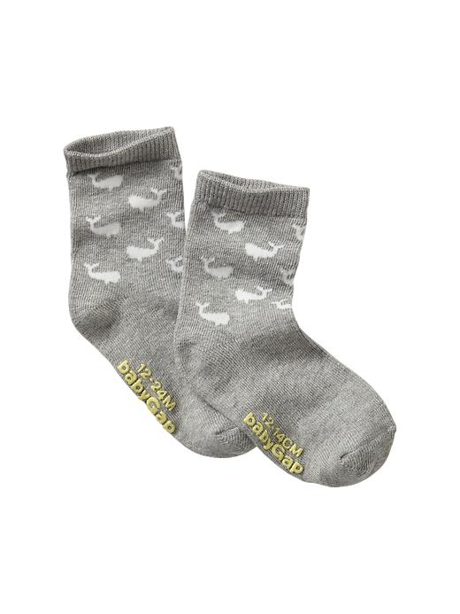 Gap Printed Socks - Heather gray - Gap Canada