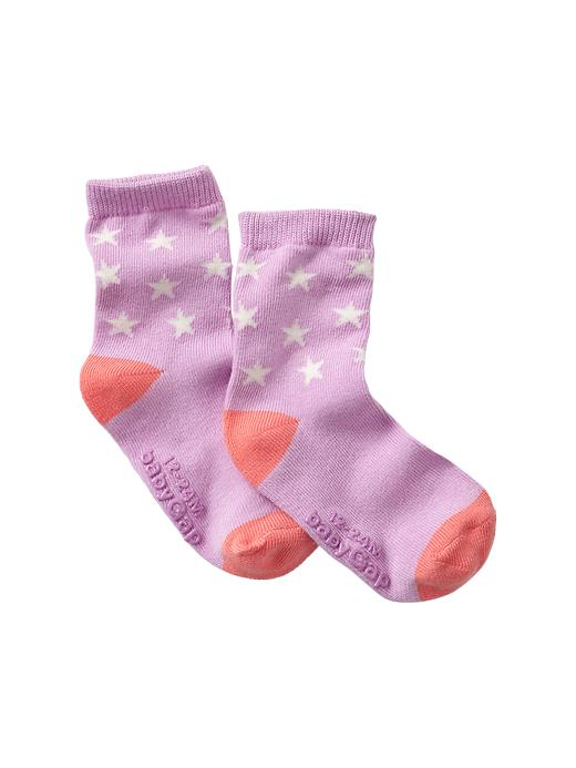 Gap Printed Socks - Purple rose - Gap Canada