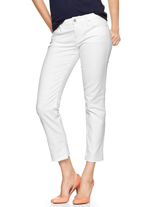 Gap 1969 Real Straight Skimmer Jeans - Optic white - Gap Canada