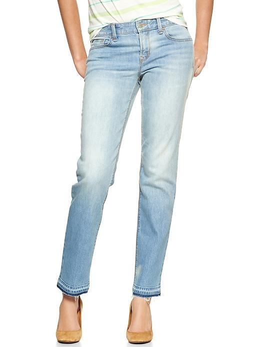 Gap 1969 Real Straight Skimmer Jeans - Lunda wash - Gap Canada
