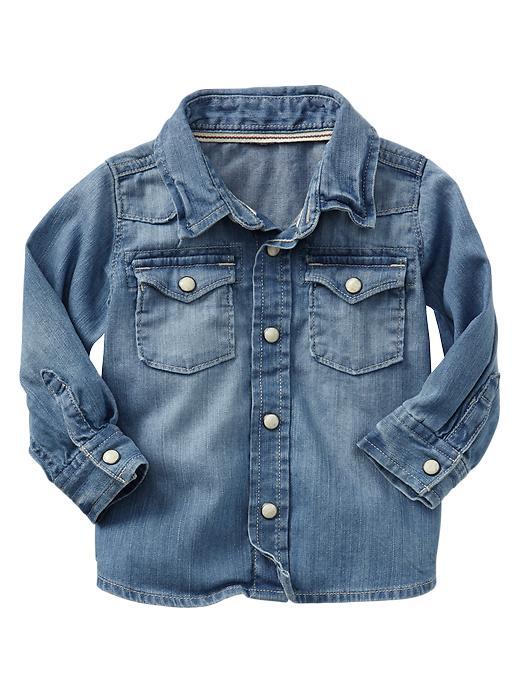 Paddington Bear For Babygap Western Denim Shirt - Light denim - Gap Canada