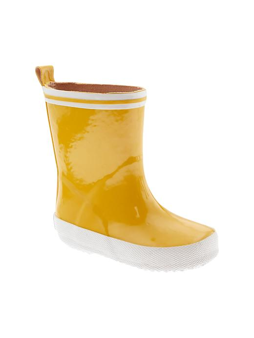 Paddington Bear For Babygap Rainboots - Rain slicker yellow - Gap Canada