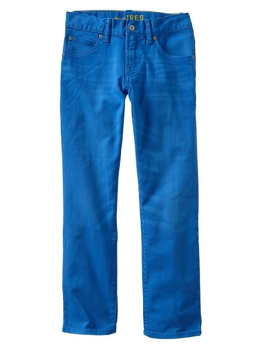 Gap 1969 Straight Jeans - Blue - Gap Canada