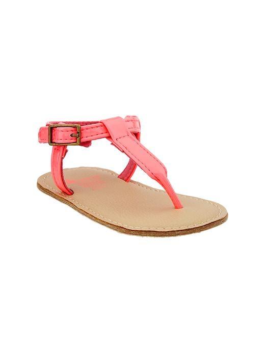 Gap Thong Sandals - Neon coral - Gap Canada