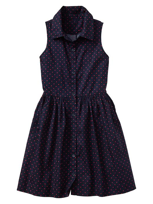 Gap Dot Shirtdress - Blue galaxy - Gap Canada