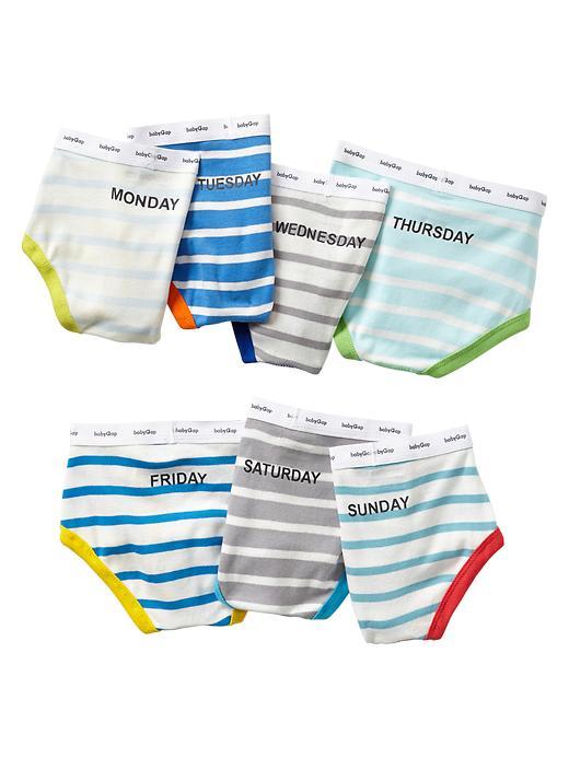 Gap Days Of The Week Stripe Underwear (7 Pack) - Multi stripe - Gap Canada