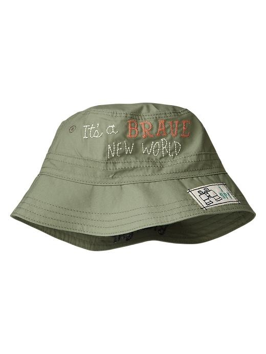 Gap Embroidered Bucket Hat - Summer sage - Gap Canada