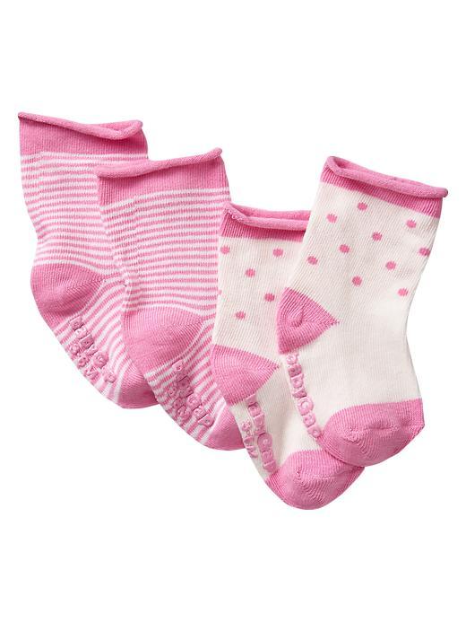 Gap Pink Socks (2 Pack) - Neon light pink - Gap Canada