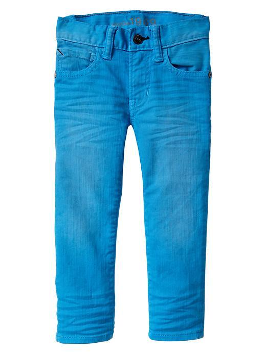 Gap Colored Skinny Fit Jeans - Folder blue - Gap Canada