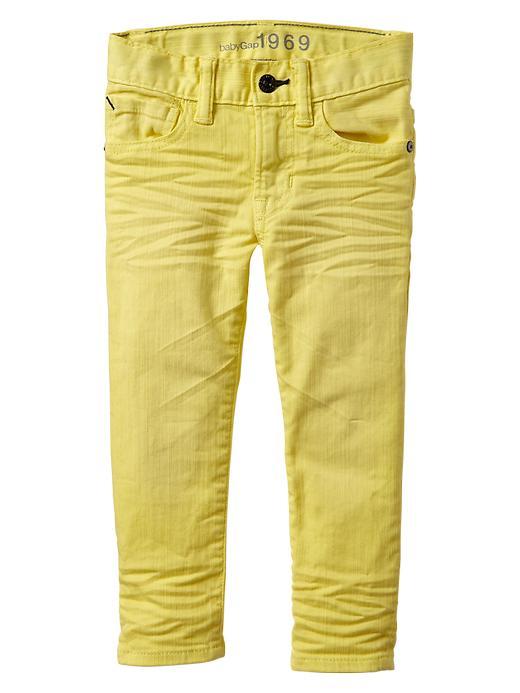 Gap Colored Skinny Fit Jeans - Phosphorus - Gap Canada