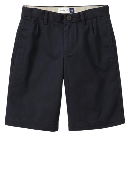 Gapshield Pleated Uniform Shorts - True navy - Gap Canada