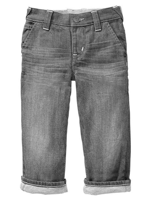 Gap Original Fit Jeans (Gray Wash) - Grey denim - Gap Canada