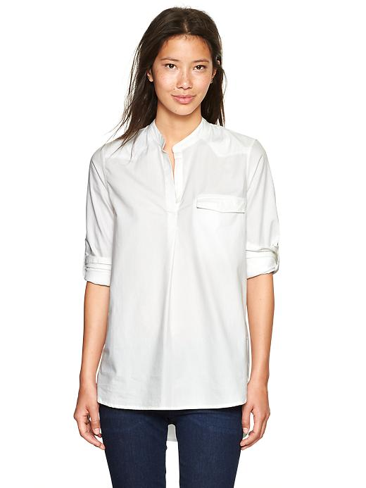 Western Oxford Pop-over Shirt