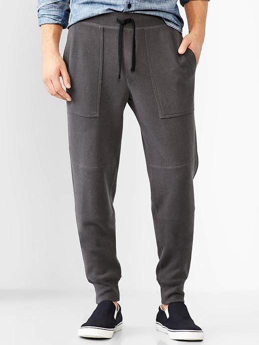Finely Ribbed Sweatpants
