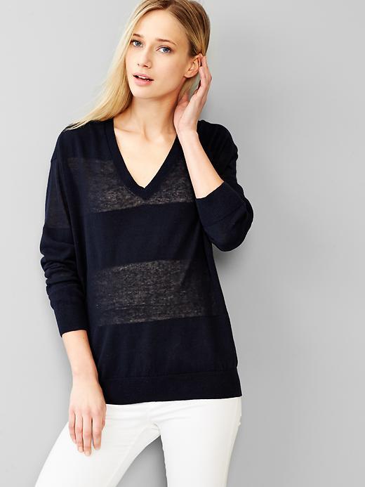 Shadow-stripe Sweaters