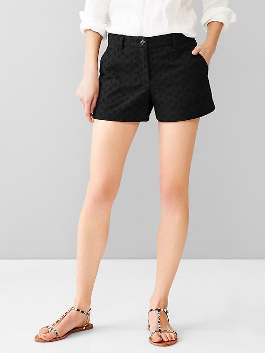 Eyelet Summer Shorts