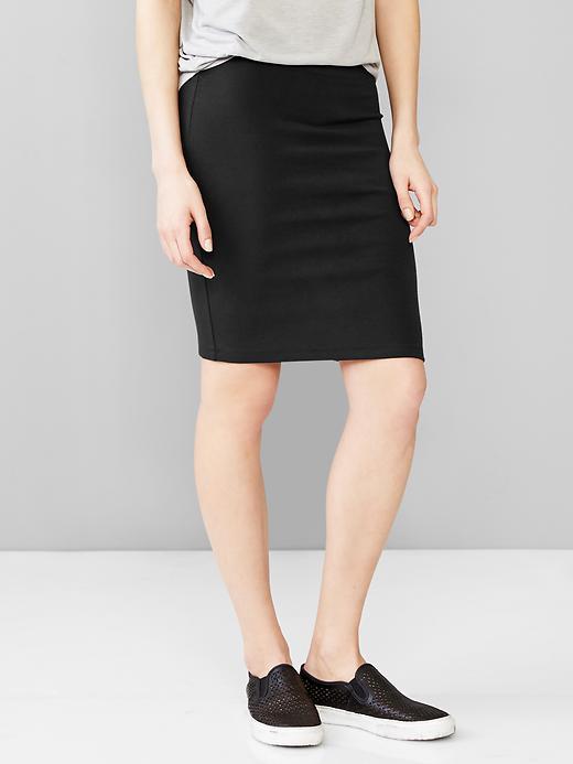 Knit Pencil Skirt