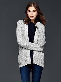Pull ouvert en laine