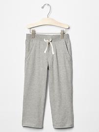 Pantalon uni en jersey