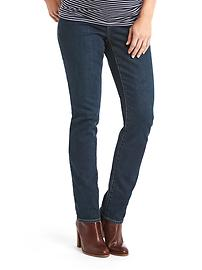Maternity full panel real straight jeans