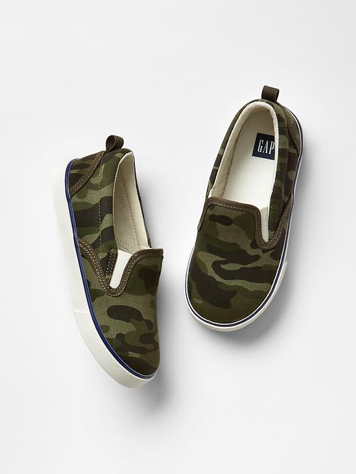 Camo Slip On Sneakers by Gap