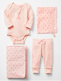 Rosy star spare pair changing set