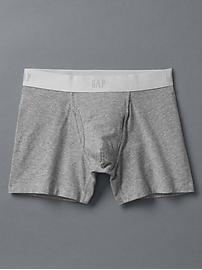"Basic 4"" boxer briefs"