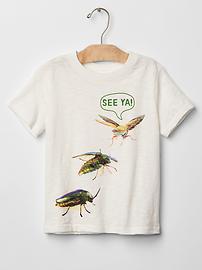 T-shirt imprimé ras du cou