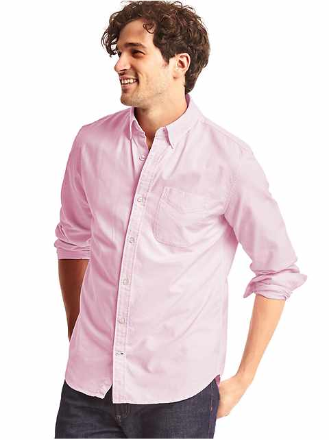 Oxford standard fit shirt
