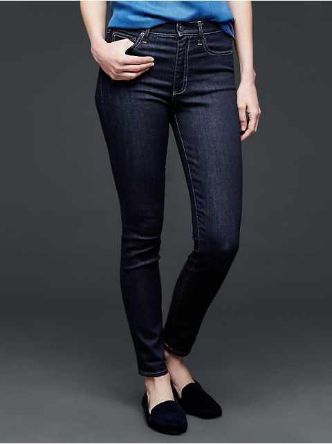 STRETCH 1969 true skinny high rise jeans