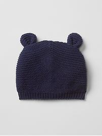 Bear garter beanie