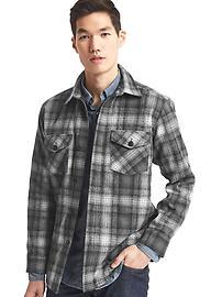 Gap + Pendleton shirt jacket
