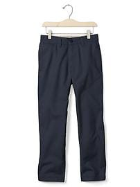 Stain-resistant reinforced relaxed pants