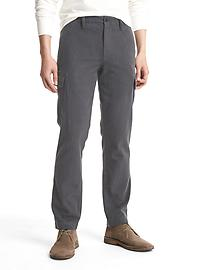 Herringbone slim fit cargo pants