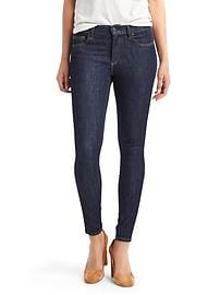 Low rise true skinny ankle jeans