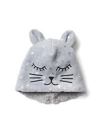 Tuque chat en molleton Pro Fleece