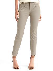 Bi-stretch skinny ankle pants