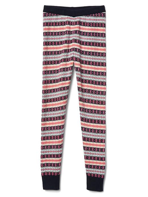 Fair isle sweater legging | Gap