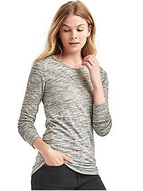 T-shirt tunique à manches longues
