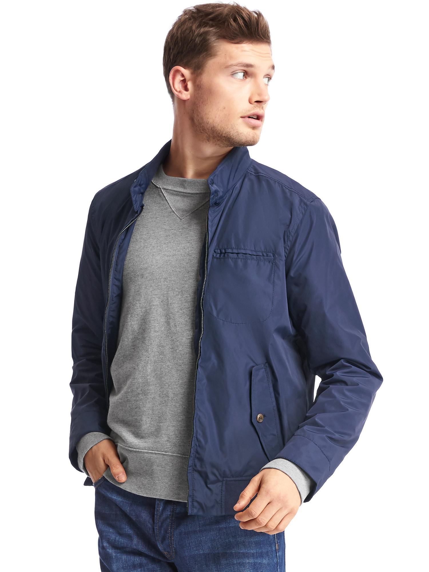 Lightweight Harrington Jacket