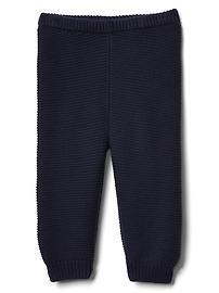 Pantalon en maille envers